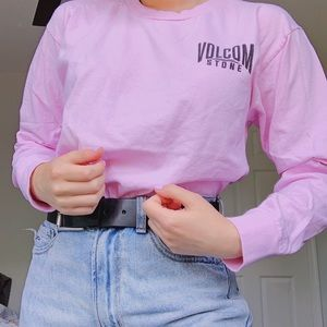 Volcom Pink Long Sleeve